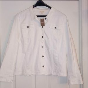 J Jill Denim Jacket XL